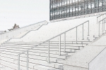 Vhod v fakulteto Evropska Pravna fakulteta