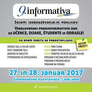 Vabilo - sejem Informativa 2017 4