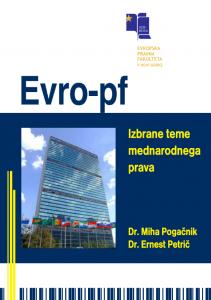 Selected Topics of International Law - naslovnica