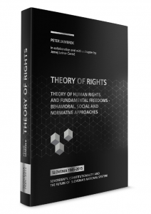 Theory of rights– theory of human rights and fundamental freedoms – behavioral, social and normative approaches - naslovnica