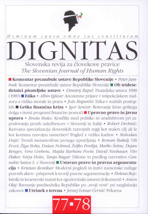 Dignitas, številka 77-78 (2018)